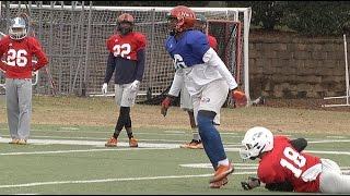 AL-MS Game: WR vs. DB Part 2 (Alabama)