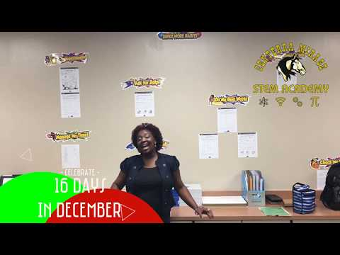 16 Days of Celebration in the AESD - Day 2 - Centerra Mirage STEM Academy
