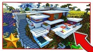 10 Milyon Dolarlık Evim Oldu !!! | Minecraft PE: MCPE Build Tanıtımları BKT