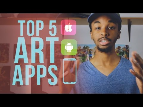Top 5 Apps for Artists!!!
