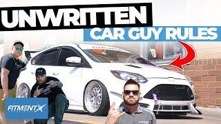 unwritten-car-guy-rules