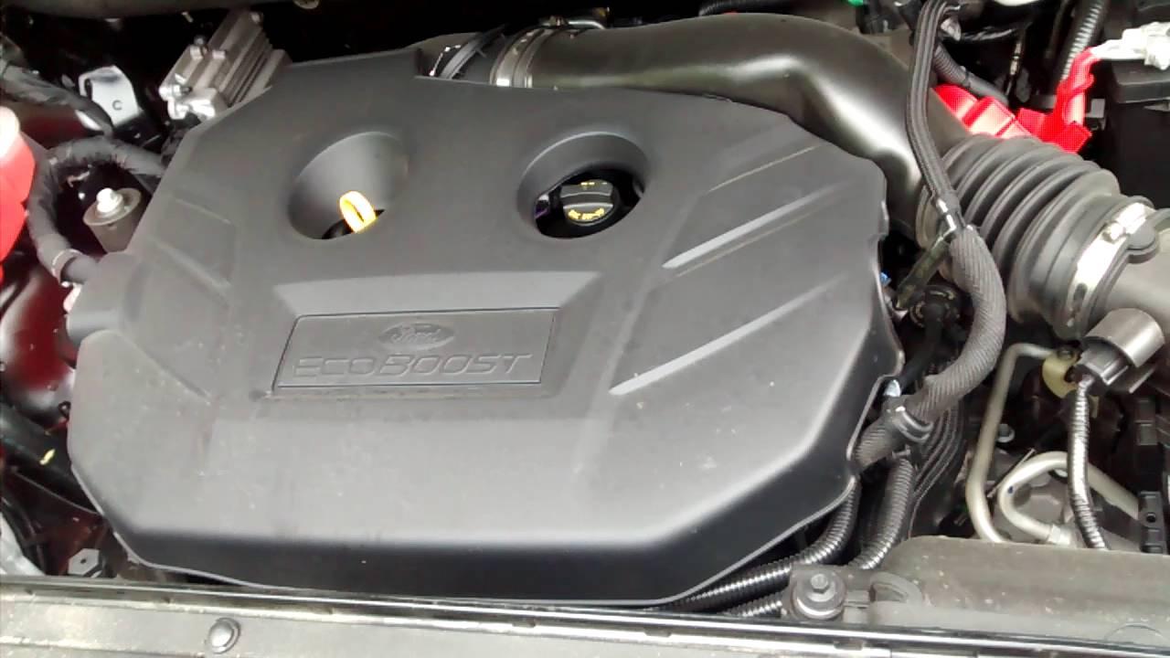 Ford Edge Titanium  L Inline  Ecoboost Engine Normal Engine Noises