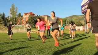 2019 Women's Montana Cross Camp Agility Drill