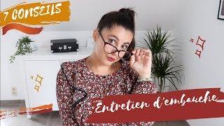 7 CONSEILS 👩🏻💻 POUR UN ENTRETIEN D'EMBAUCHE ✅ │Merry