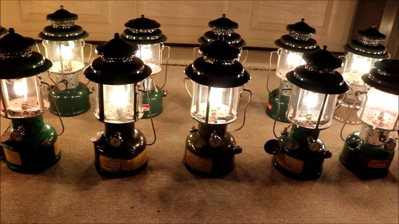 Largest Coleman Lantern Light Up On You Tube