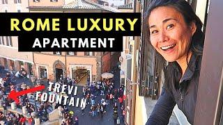 5-star Rome Apartment Tour | Apartment In Italy 🇮🇹