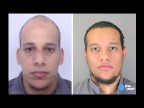 Brothers wanted in Charlie Hebdo terror attack
