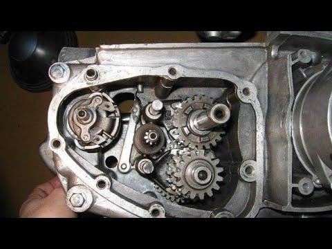 Сборка коробки передач мотоцикл Иж Планета 3,4,5