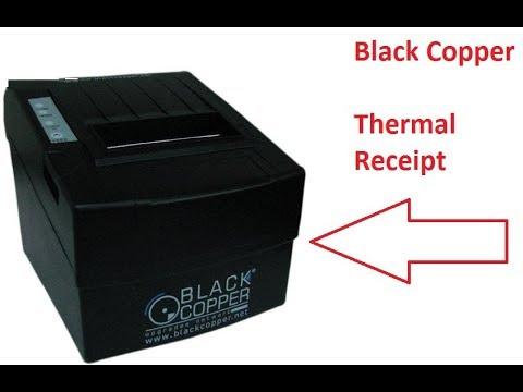 How to install Thermal Printer BC-85AC Black Copper Urdu/Hindi