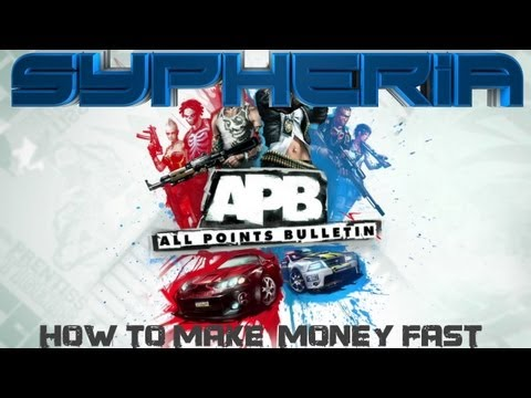 Fastest way to make money on APB Tutorial!