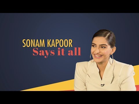 Sonam Kapoor Talks About Personal Life | Dulquer Salman | Film With Anil Kapoor | Marriage