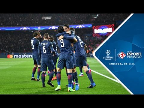 Melhores Momentos - PSG 4 x 0 Barcelona - Champions League (14/02/2017)