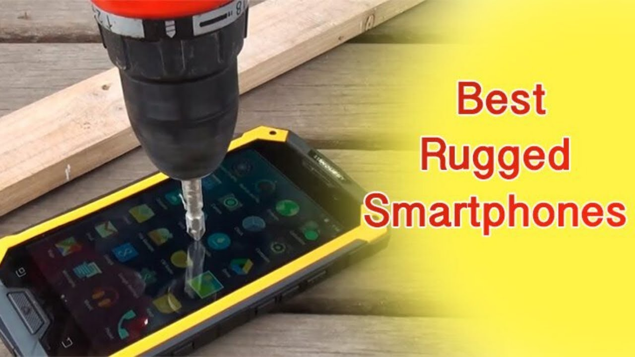 Download Top 5 Best RUGGED Smartphone | With Waterproof, Dustproof & Shockproof Test