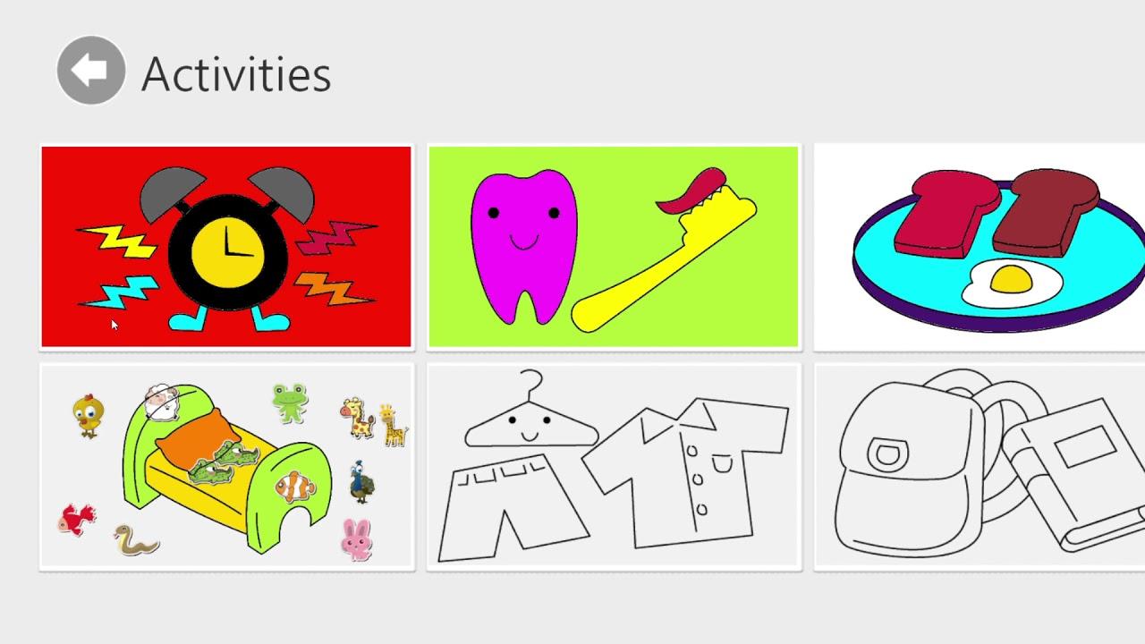 Okul öncesi Boyama Etkinlikleri Oyunu Ile Eğleniyoruz Youtube