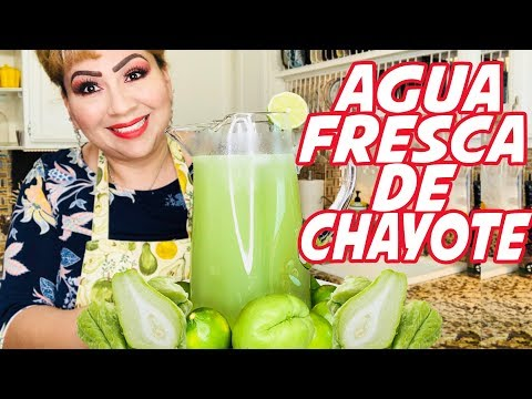 Agua Fresca de Chayote