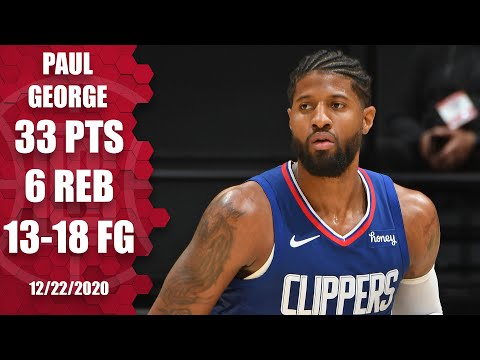 Paul George leads Clippers with 33 points vs. Lakers | 2020 NBA Highlights