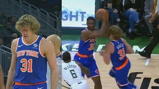 Ron Baker Gets Face Destroyed By His Own Teammate