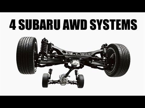 How Every Single Modern Subaru AWD System Works