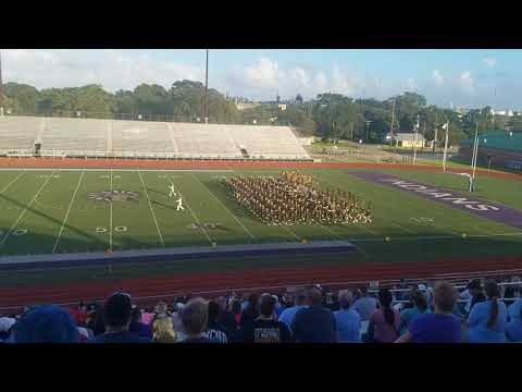 Vidor High School Marching Band 2017 Marching Contest