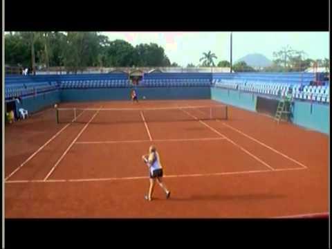 Daniela Diez  2014 Tennis  Panama