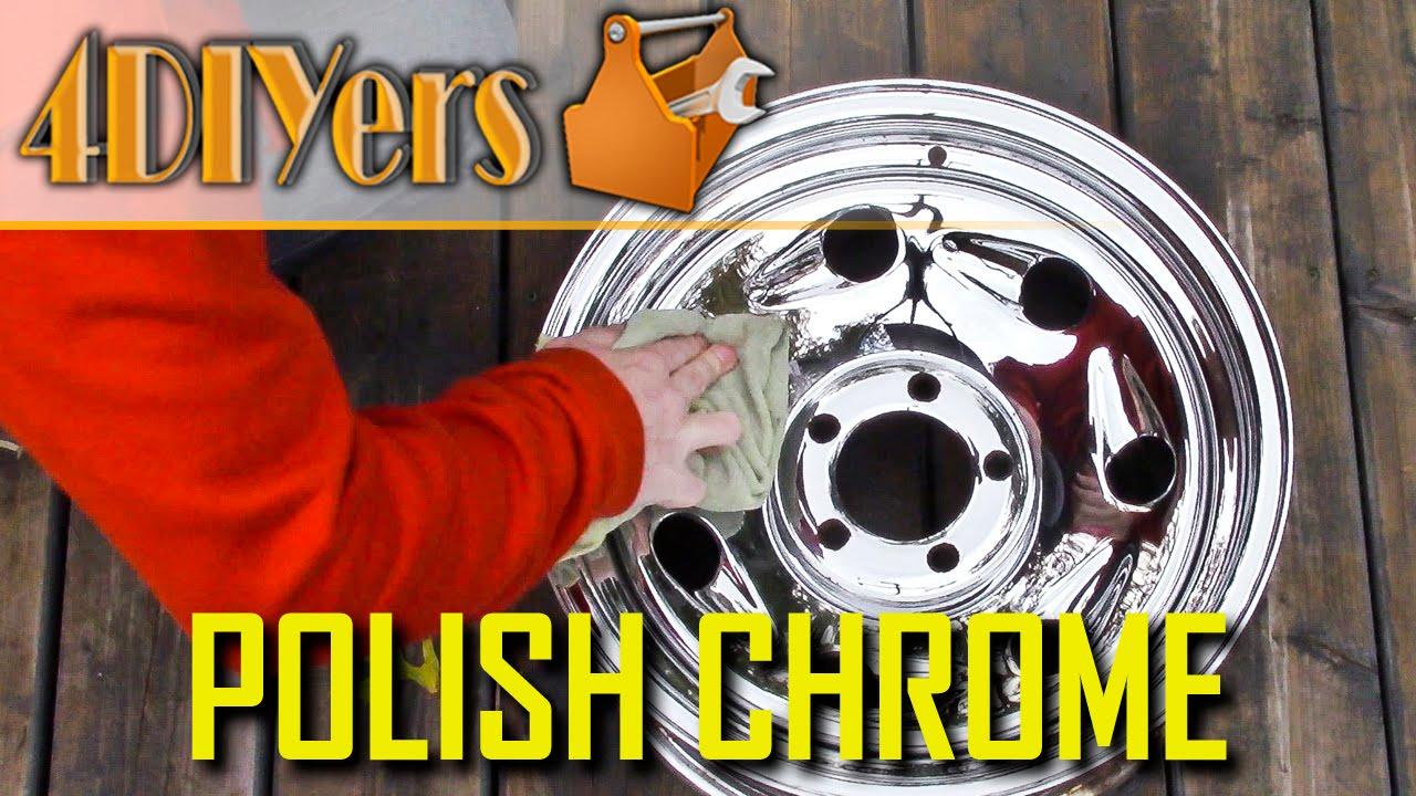 Clean & Polish Chrome Wheels