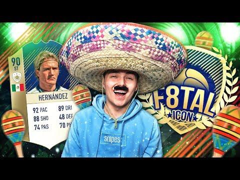 "FIFA 18: F8TAL ICON ""STIRNBAND"" HERNANDEZ  #4 ⚽👒 IM SOMBRERO AUF REKORDJAGD"