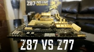 Z87 (Haswell) vs Z77 (Ivy Bridge) - What's New?