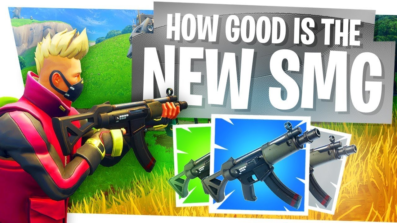 How Good Is The New Smg Fortnite Season 5 Updates Tac Smg