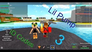 3 Lit Lil Pump Roblox Music Id Codes !!! / Codes in Description !!!