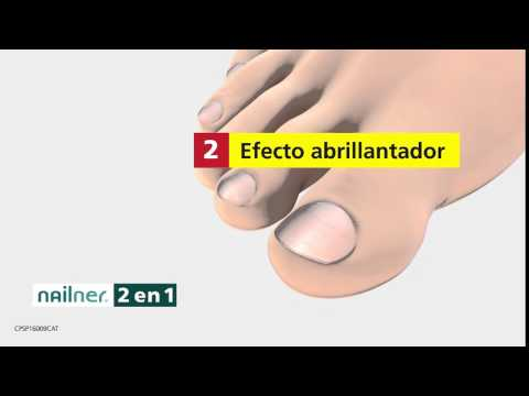 Nailner Pen 2 IN 1 + Brush 2 IN 1 Nail Fungus treatment TV commercial ES_2016