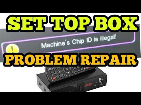 Repeat Machine OTP illegal Set Top Box ko Kaise Repair karen