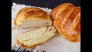 Хрустящий вкусный слоеный хлеб Простой рецепт для новичков