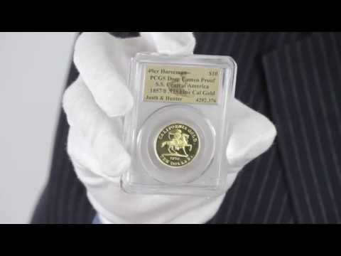 1857 $10 49er Horseman Gold Commemorative PCGS Deep Cameo Proof | Goldmart
