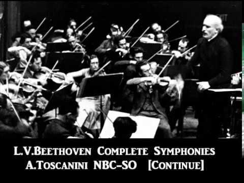 L.V.Beethoven Complete Symphonies [ A.Toscanini NBC-SO ] (1951~3)