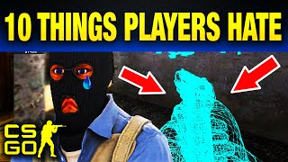 Top 10 Things Every CS:GO Player Hates