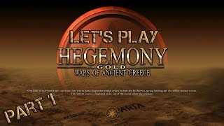 Let's Play Hegemony Gold: Wars of Ancient Greece - Part 1