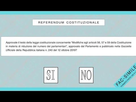 Ecco quali partiti sono per il Sì e quali per il No al Referendum su taglio parlamentari.