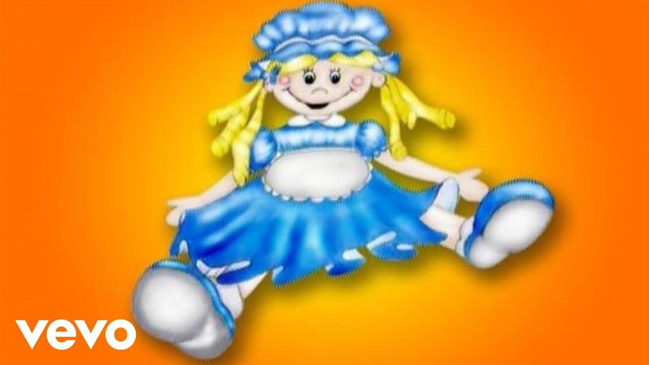 Letra tengo una muneca vestida de azul cantajuegos