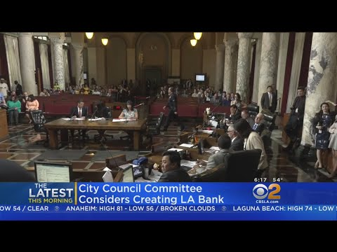 LA Considers First Ever City-Owned Public Bank