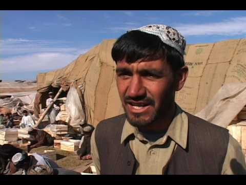 Homayuon shaoib TV report about Dray fruits In Kandahar Province Dece 22 2006