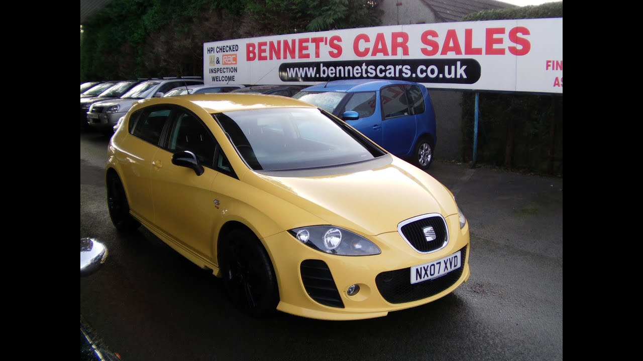 2007 seat leon fr tdi 170 with btcc kit 60k now sold youtube. Black Bedroom Furniture Sets. Home Design Ideas