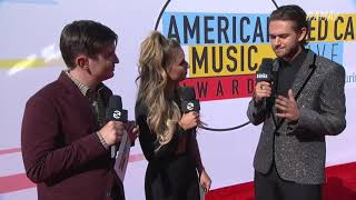 Zedd Red Carpet Interview - AMAs 2018