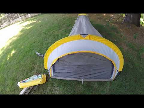 Repeat Ozark Trail 1 Person backpacking Tent Review part 2