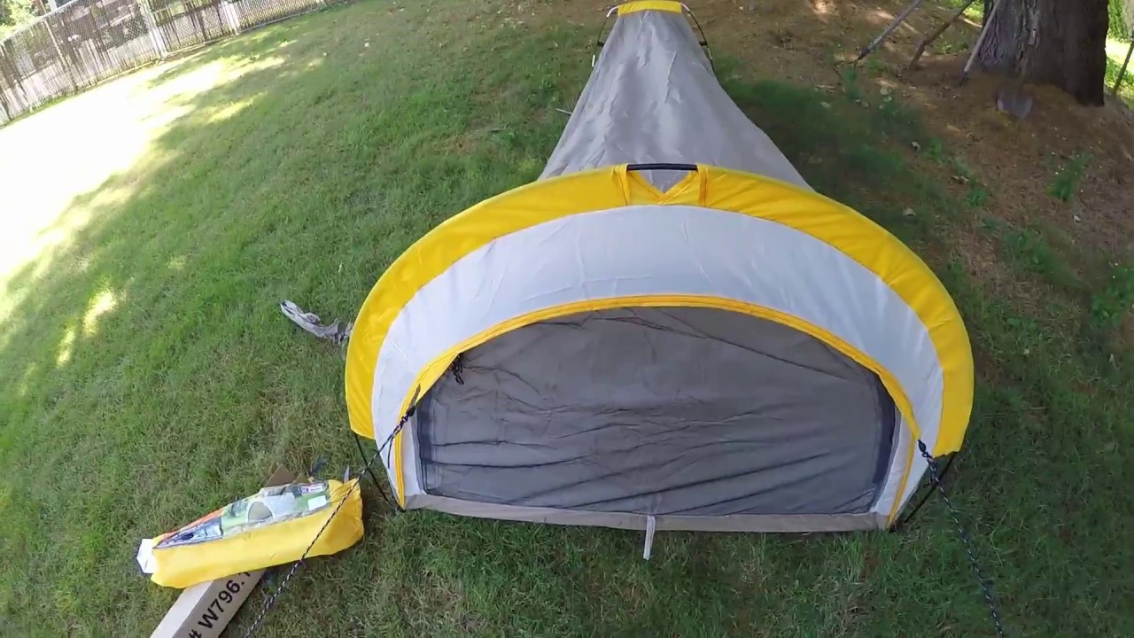 First Impressions Ozark Trail 1-Person backpacking Tent Part 1 & First Impressions Ozark Trail 1-Person backpacking Tent Part 1 ...