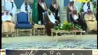 عندما تفاعل الملك عبدالله مع قصيدة سعود الحافي