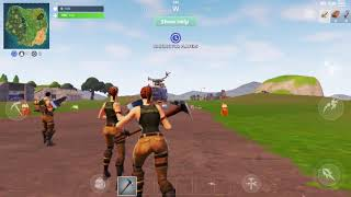 Fortnite for Android gameplay (Samsung Galaxy S7)