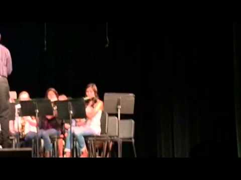 Viva la vida- Kepley middle school 8th grade band