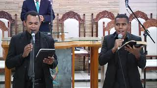 CULTO EVANGELÍSTICO     04 DE ABRIL DE 2021 - PRIMEIRO CULTO     Acessível em Libras