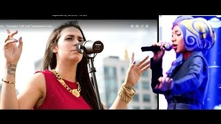 Kat Dahlia USA & Indah Nevertari INDONESIA GANGSTA LIVE