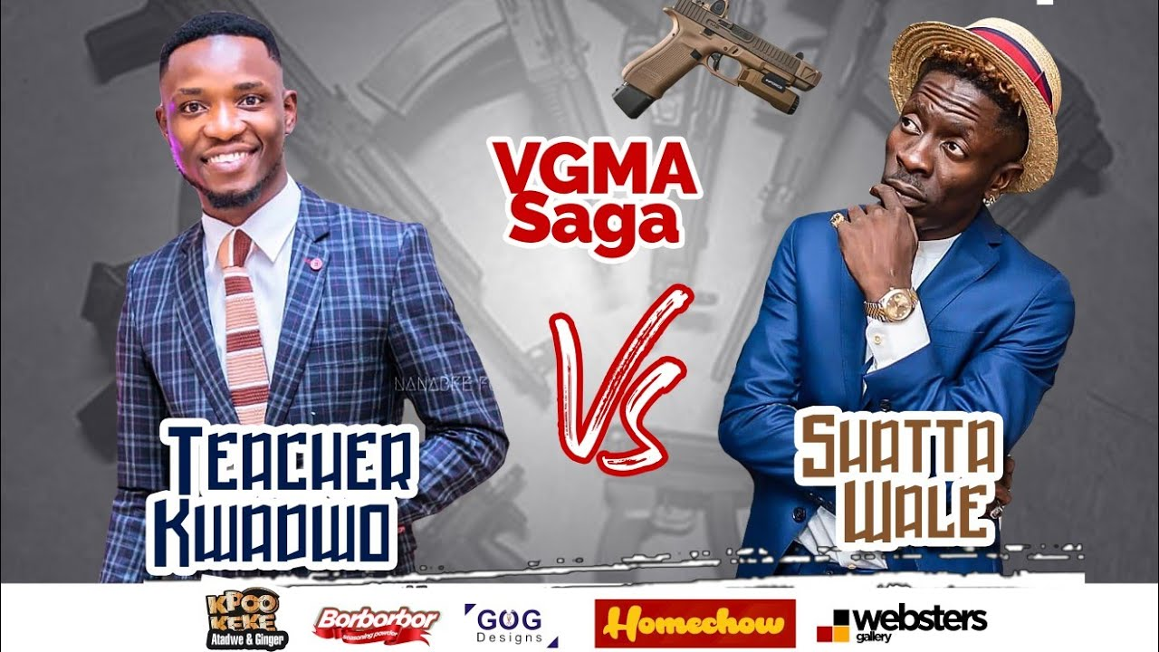 Shatta Wale  Verbally B@ttles Teacher Kwadwo about VGMA saga.????